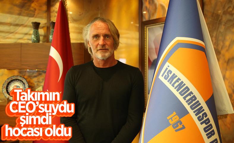 Jan Olde Riekerink, İskenderunspor'un başına geçti