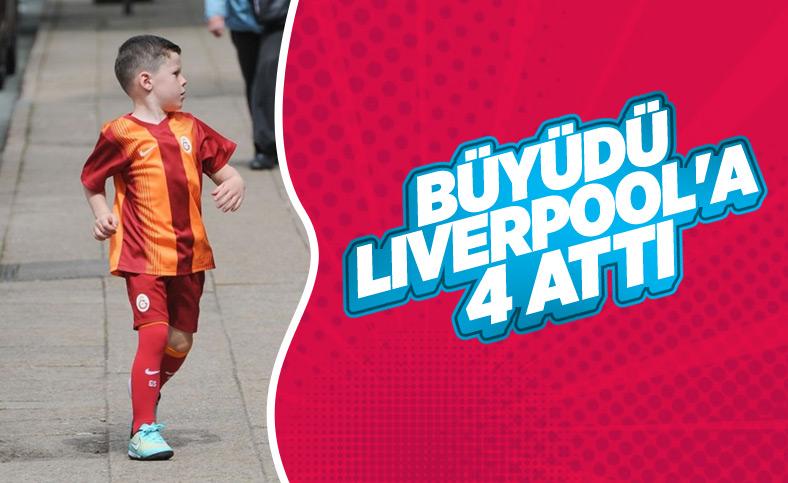 Rooney'nin oğlu Liverpool'a 4 attı