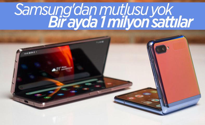 Samsung Galaxy Z Fold 3 ve Flip 3, 1 milyon satış barajını geçti
