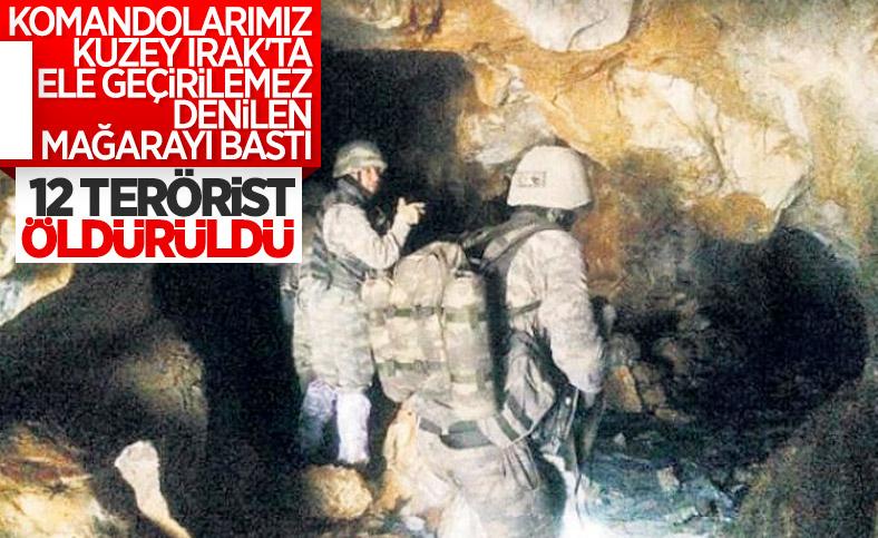 MSB: 12 terörist silahlarıyla birlikte etkisiz hale getirildi