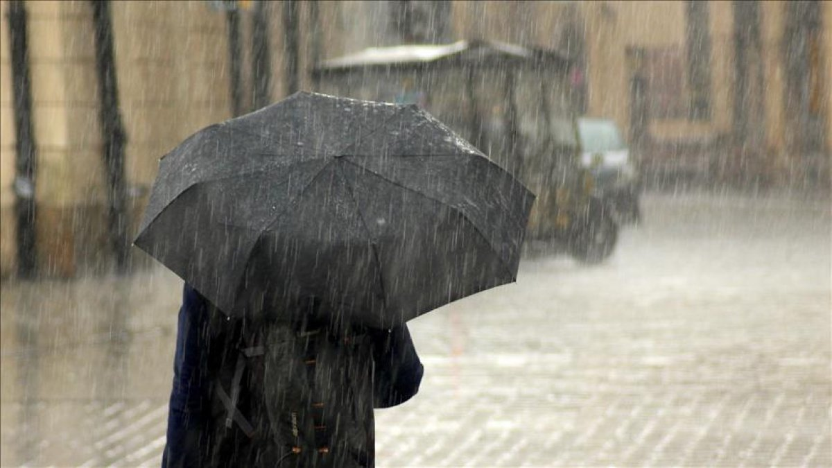 Karadeniz için kuvvetli yağış uyarısı #5