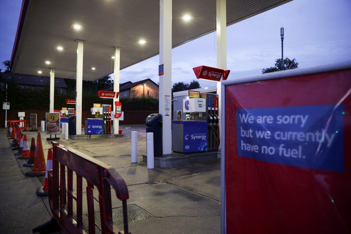 İngiltere de yakıt krizi devam ediyor #5