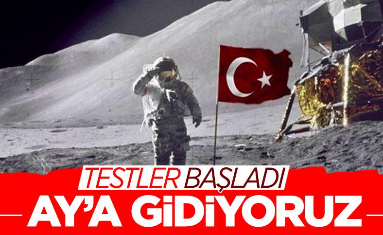 Türkiye'nin uzay çalışmalarında ilk hedefi Ay'a ulaşmak