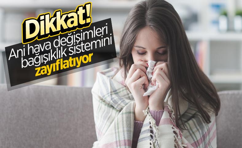 Mevsim geçişlerinde bağışıklığı güçlü tutmanın yolları