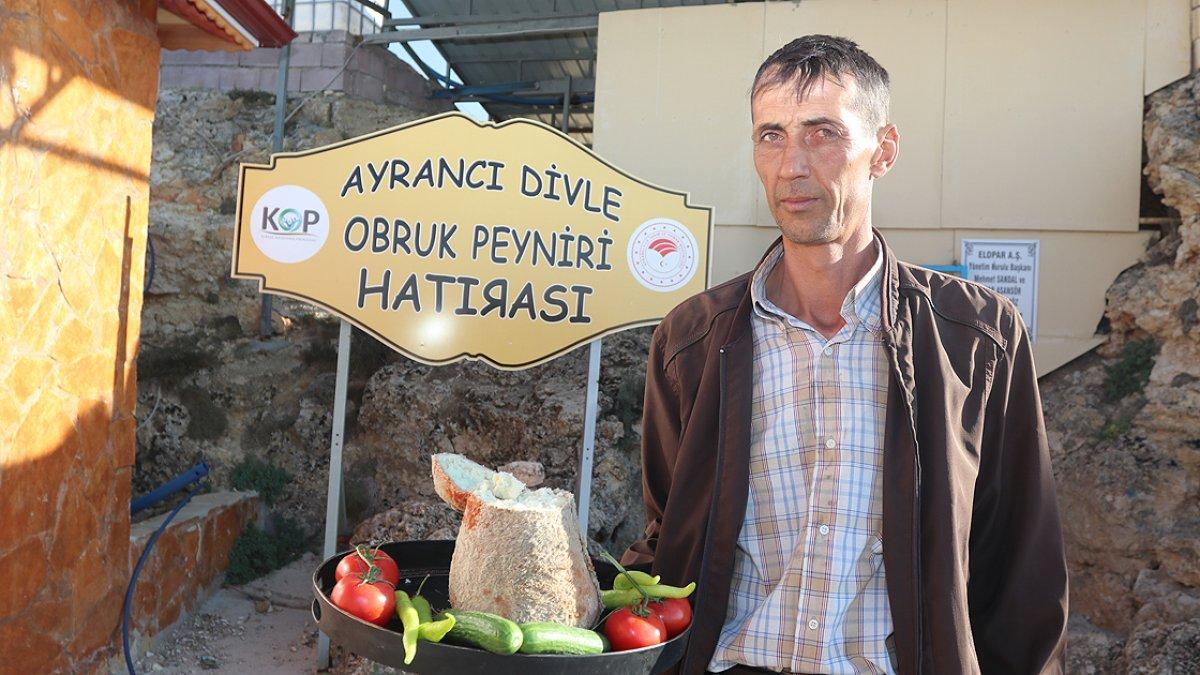 Karaman ın Divle peyniri  Türk rokforu  sofralarda #4