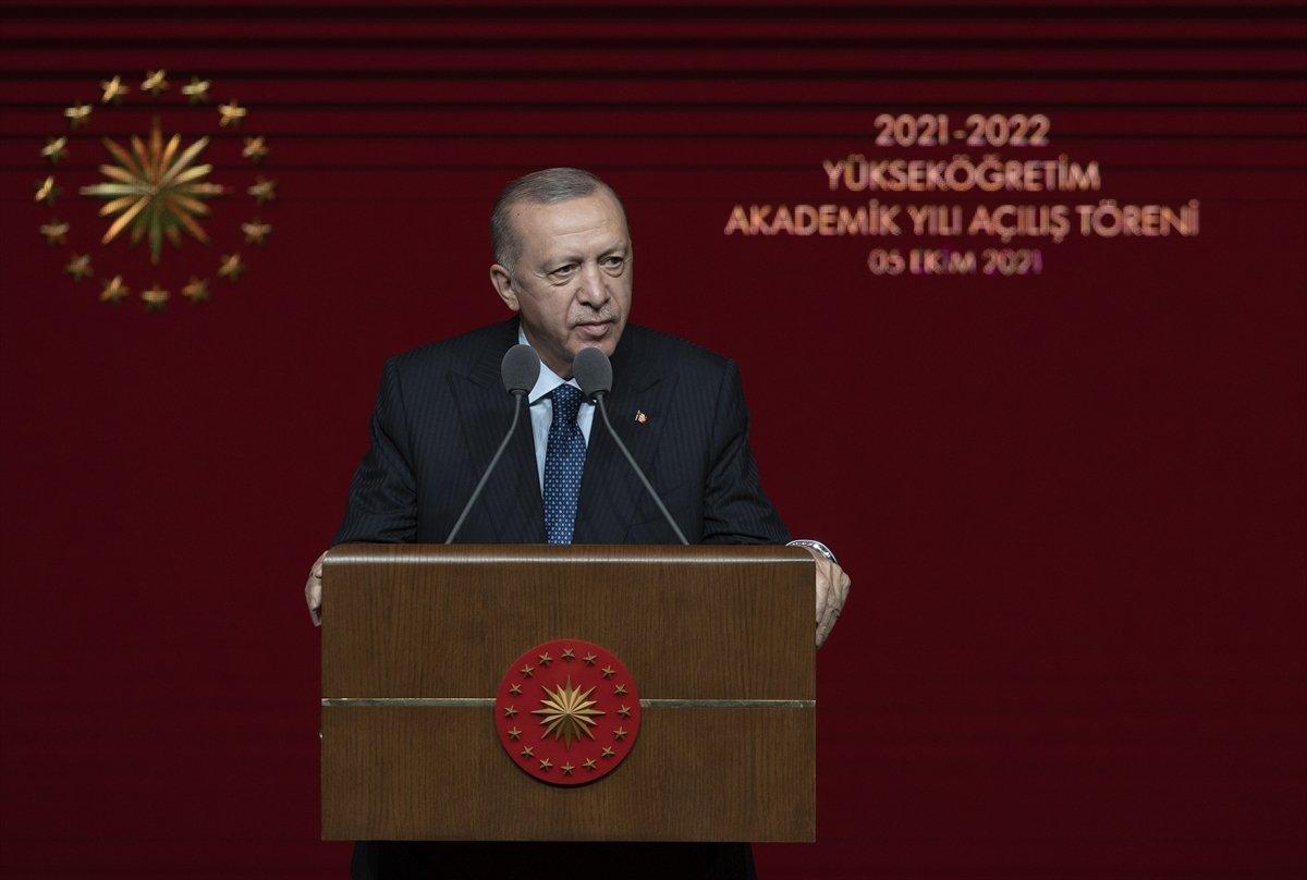 Cumhurbaşkanı Erdoğan dan Boğaziçi Üniversitesi ndeki olaylara tepki #1
