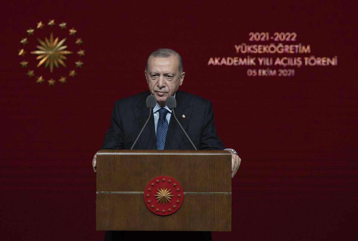 Cumhurbaşkanı Erdoğan dan Boğaziçi Üniversitesi ndeki olaylara tepki #2