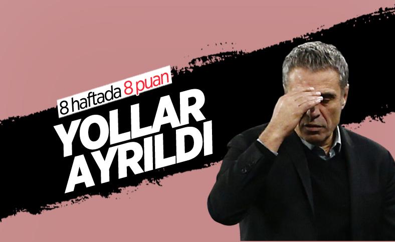 Antalyaspor, Ersun Yanal ile yollarını ayırdı