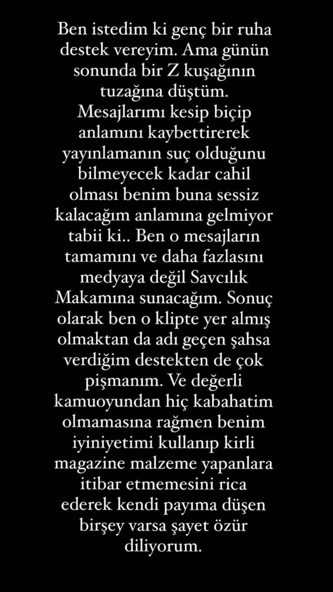 Ece Ronay, Mehmet Ali Erbil tarafından taciz edildiğini açıkladı #1