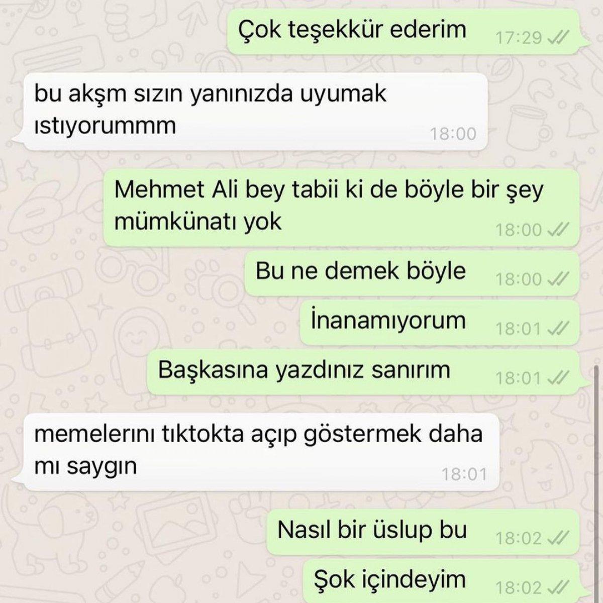 Ece Ronay, Mehmet Ali Erbil tarafından taciz edildiğini açıkladı #2