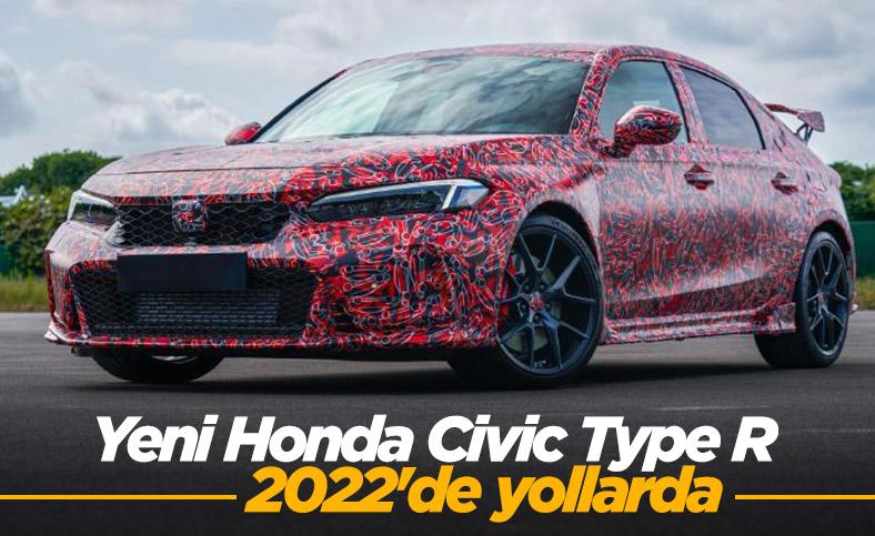 Yeni 2022 Honda Civic Type R görüntülendi