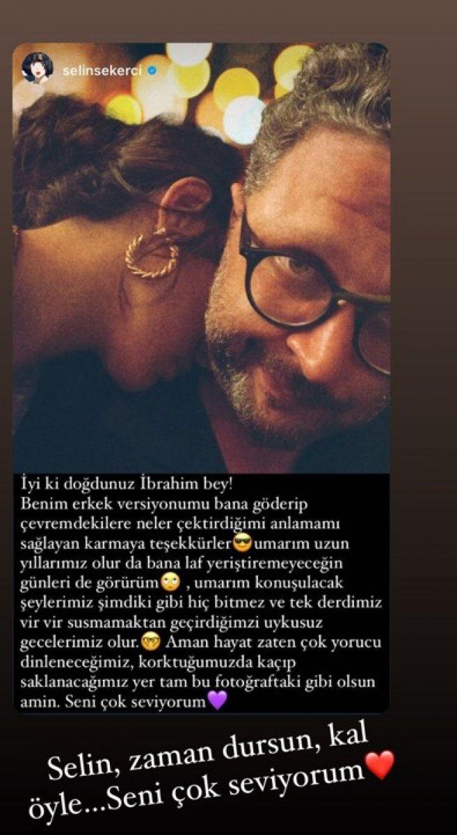 Selin Şekerci, sevgilisi İbrahim Selim in doğum gününü kutladı #1