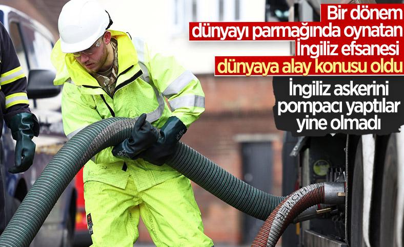 İngiltere'de yakıt krizi devam ediyor
