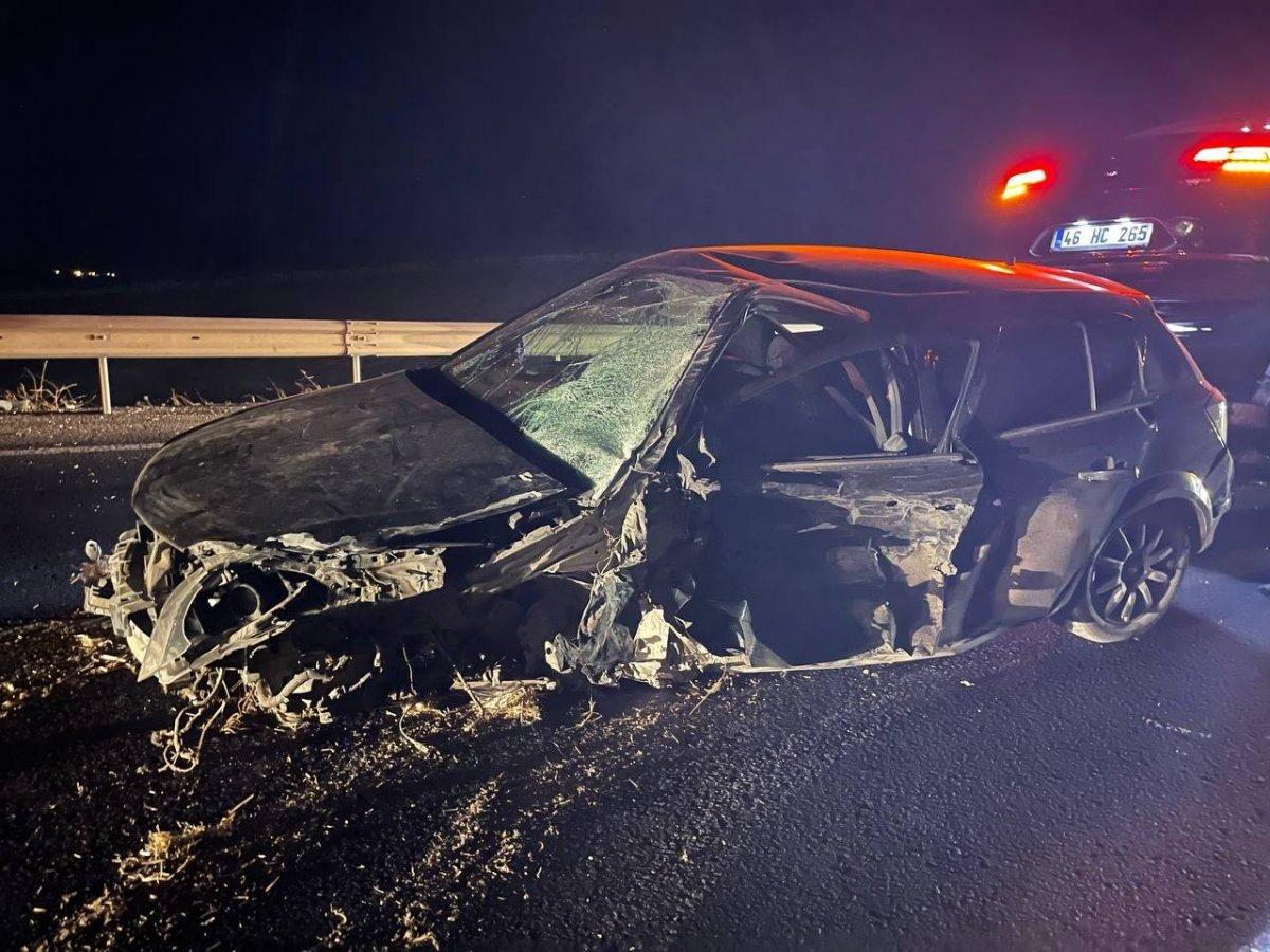 Şanlıurfa da alkollü polis kaza yapıp meslektaşlarına zor anlar yaşattı #5