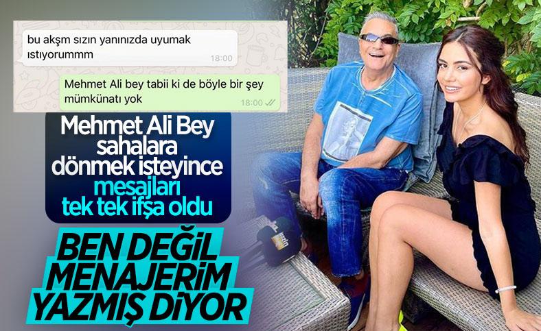Ece Ronay, Mehmet Ali Erbil tarafından taciz edildiğini açıkladı