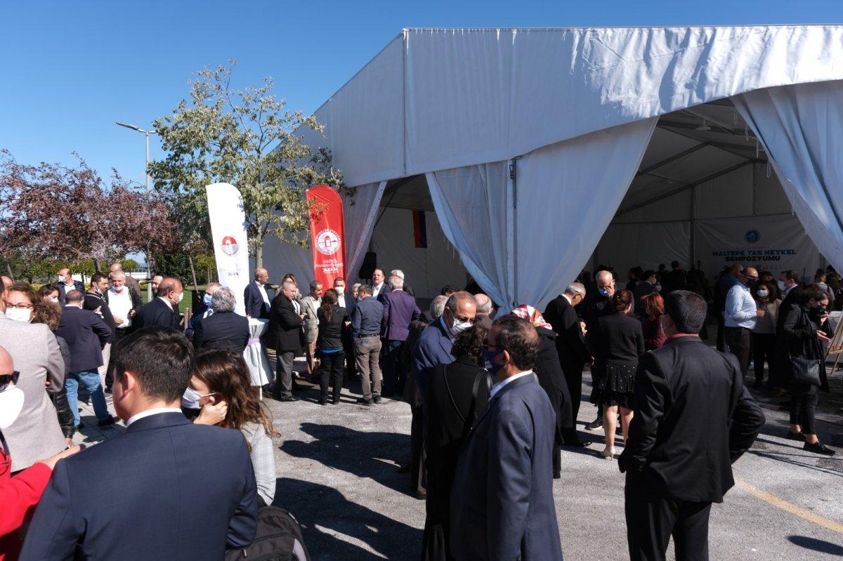 Maltepe Belediyesi, Uluslararası Taş Heykel Sempozyumu nu başlattı #2