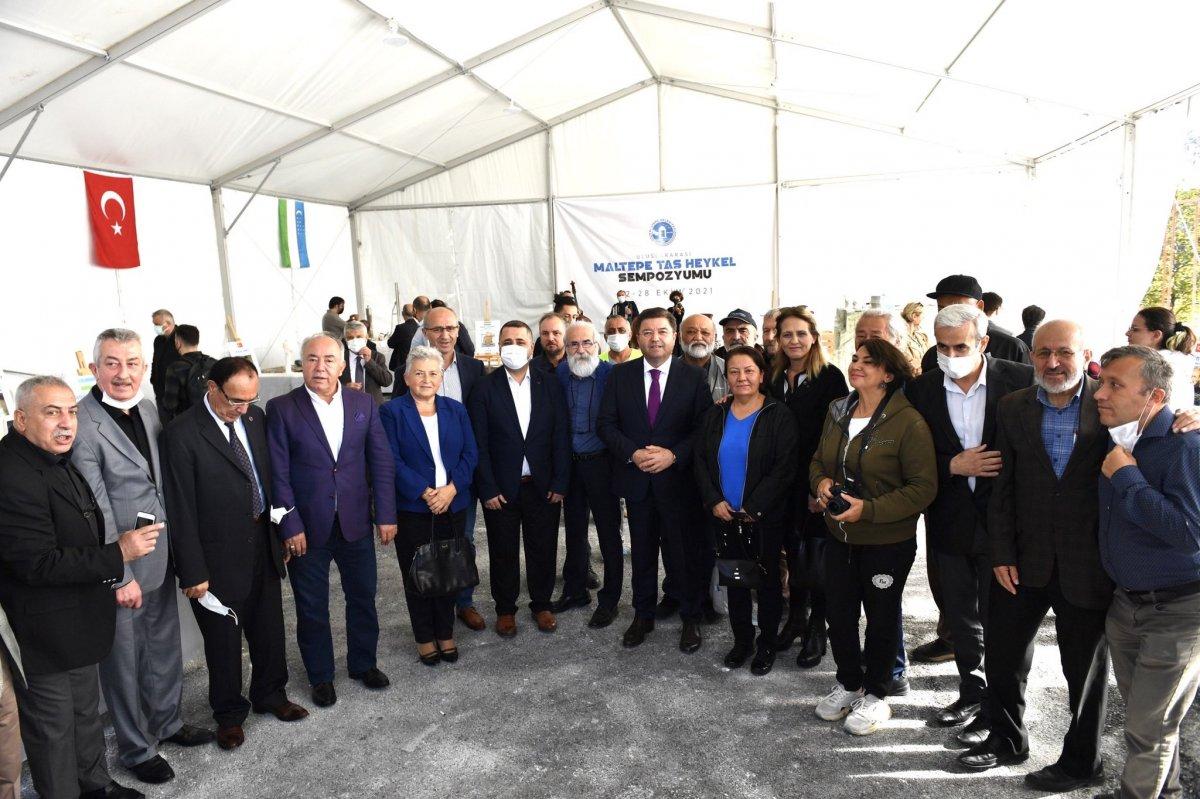 Maltepe Belediyesi, Uluslararası Taş Heykel Sempozyumu nu başlattı #3