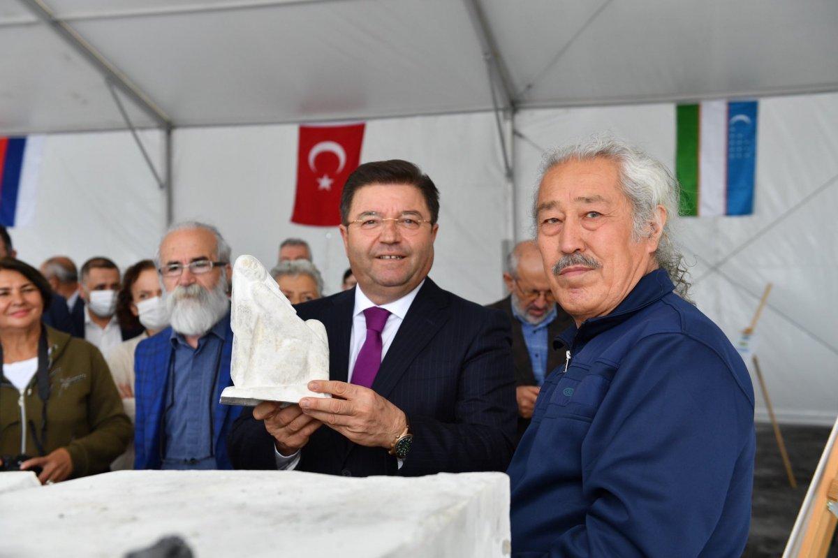 Maltepe Belediyesi, Uluslararası Taş Heykel Sempozyumu nu başlattı #1