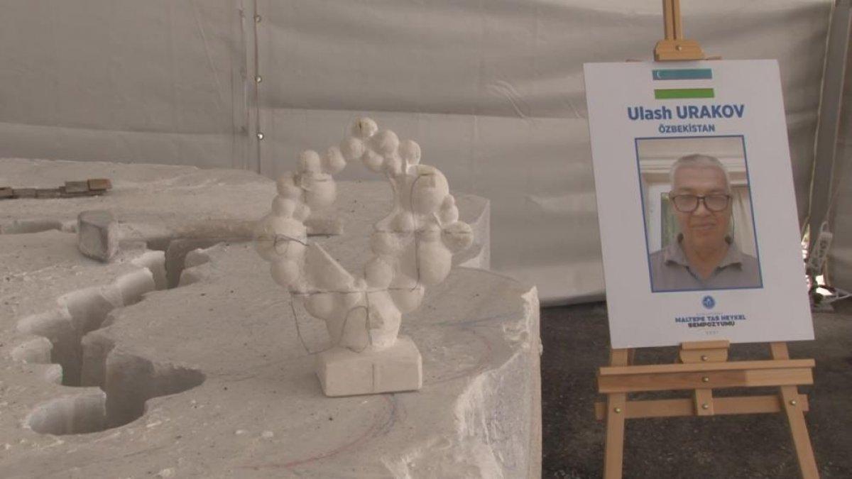 Maltepe Belediyesi, Uluslararası Taş Heykel Sempozyumu nu başlattı #6