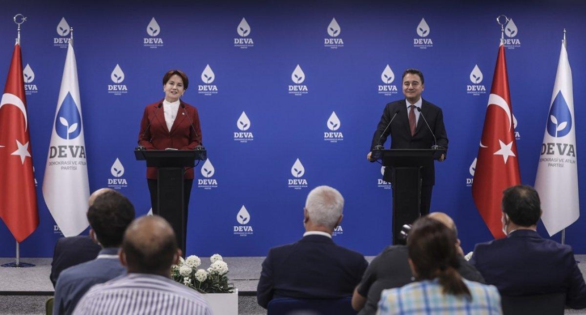 Meral Akşener den Millet İttifakı nın Cumhurbaşkanı adayına ilişkin açıklama #2