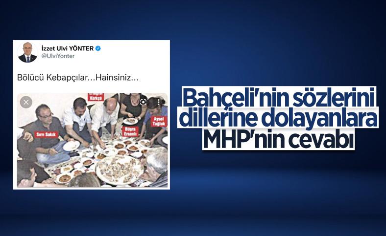 MHP'den Devlet Bahçeli'nin kebapçı sözlerini eleştirenlere yanıt