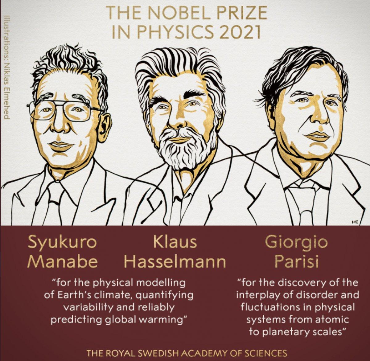2021 Nobel Fizik Ödülü sahiplerini buldu #1