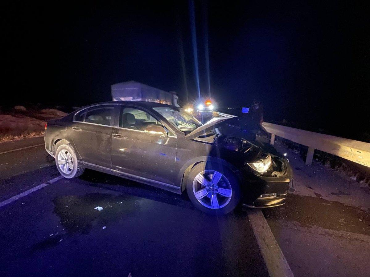 Şanlıurfa da alkollü polis kaza yapıp meslektaşlarına zor anlar yaşattı #6
