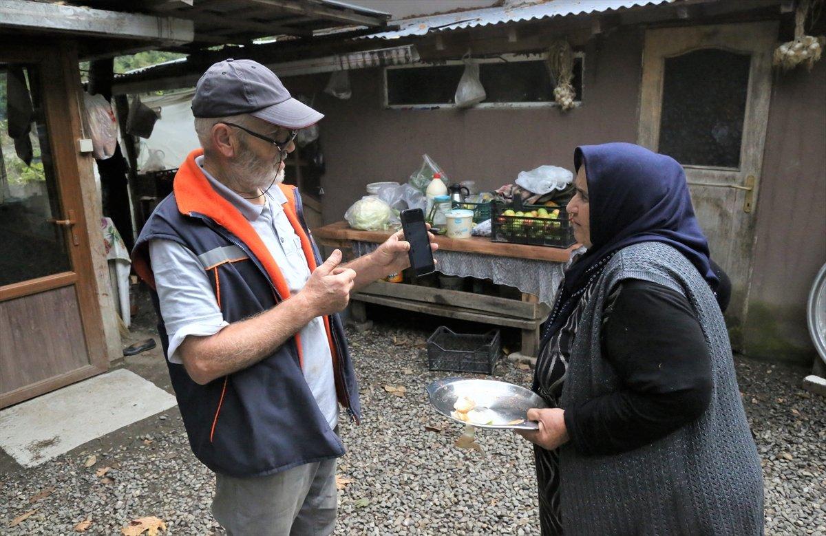 Kastamonu da selzede, işçilere gönüllü olarak yemek yapıyor #6
