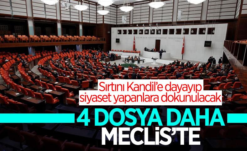 HDP'li ve DBP'li milletvekillerinin dokunulmazlık fezlekeleri Meclis'te