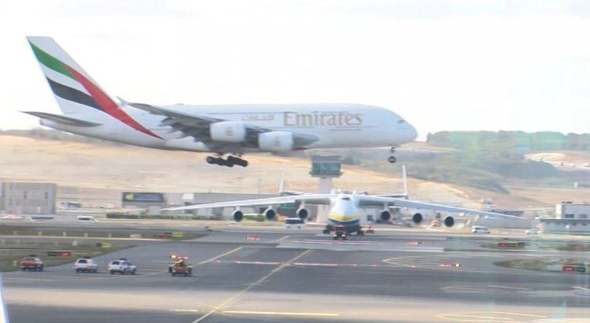 İstanbul Havalimanı dünya devlerini ağırladı #1