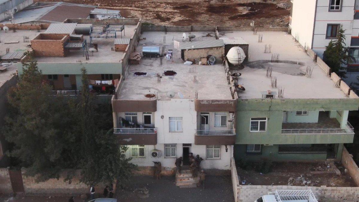 Viranşehir'de  torbacı operasyonu: 12 gözaltı #1