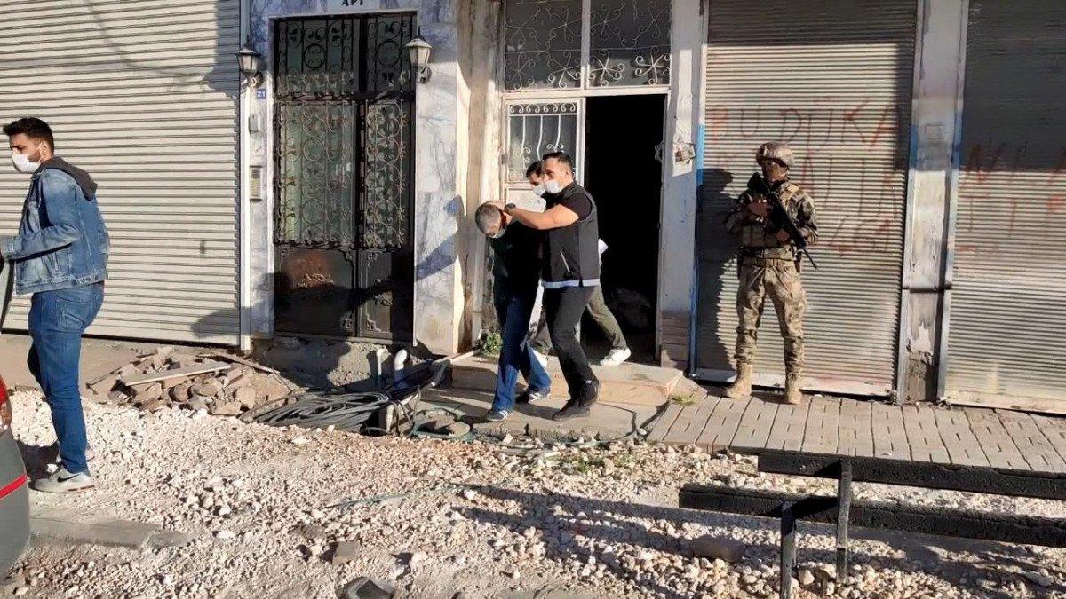 Viranşehir'de  torbacı operasyonu: 12 gözaltı #3