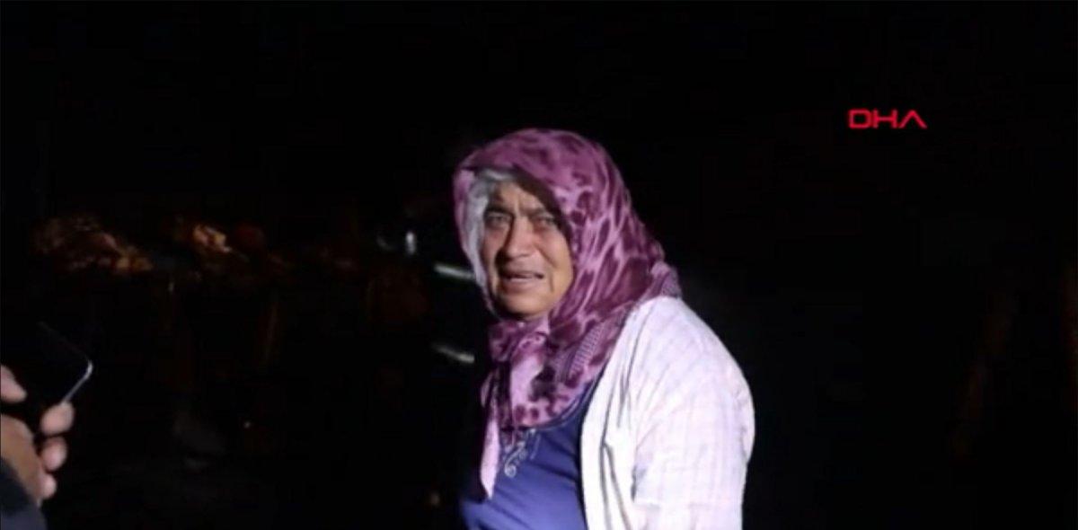 Burdur'da tavuk ağılı yandı, yanan tavukları için gözyaşı döktü  #5