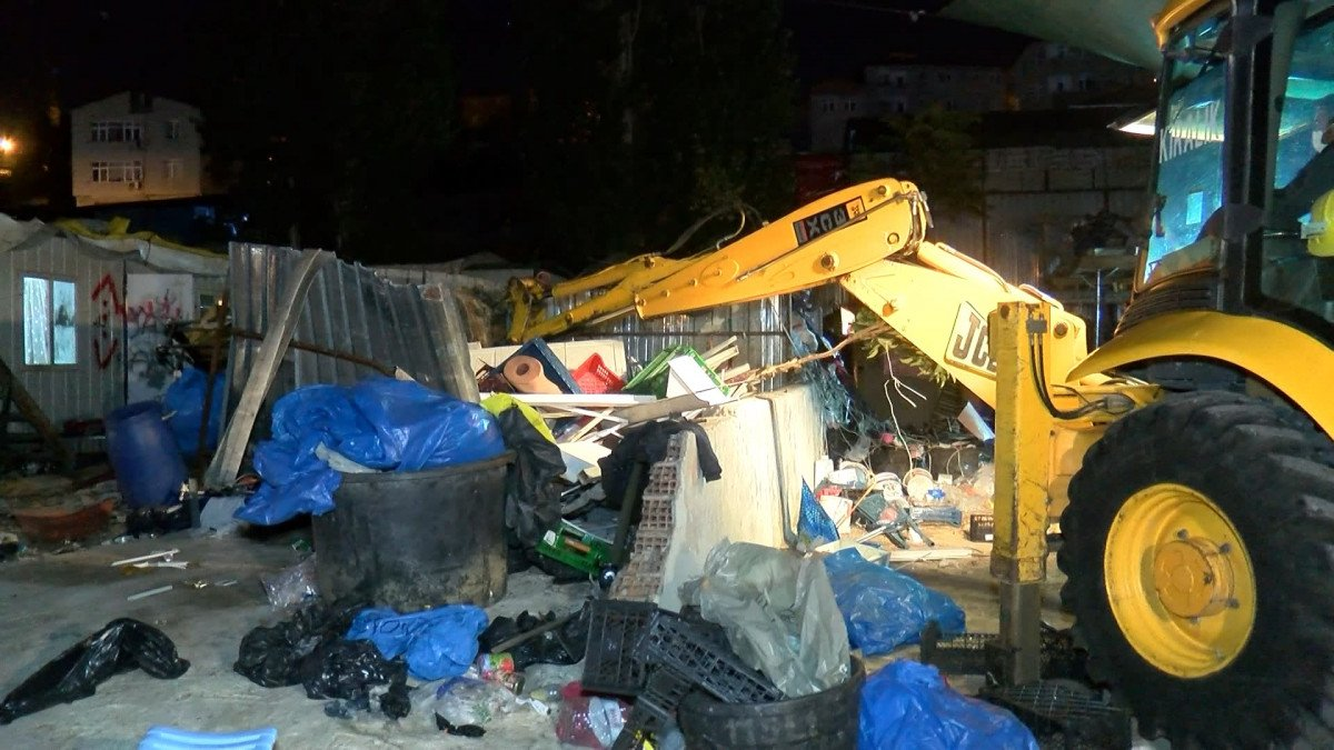 İstanbul da kaçak kağıt toplayıcılarına operasyon #9