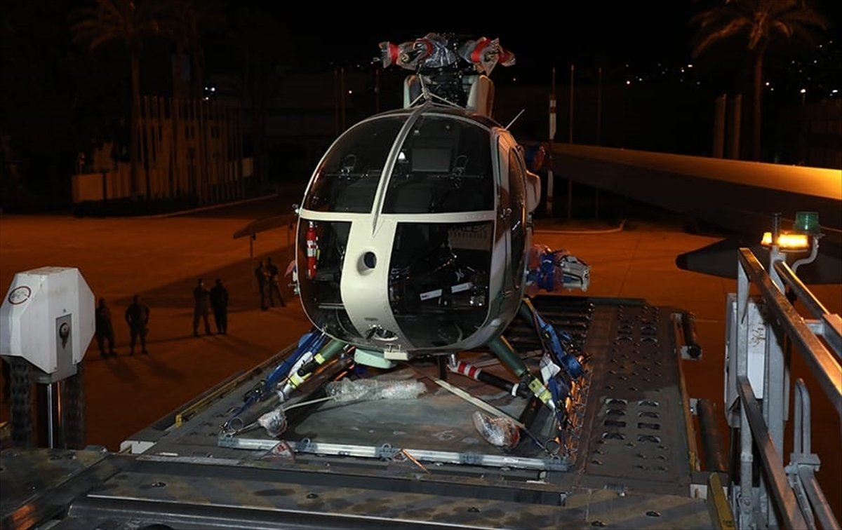 Lübnan ordusuna ABD den ikinci kez helikopter hibe edildi  #2