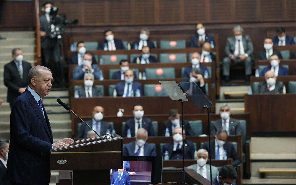 Cumhurbaşkanı Erdoğan ın grup toplantısı konuşması #4