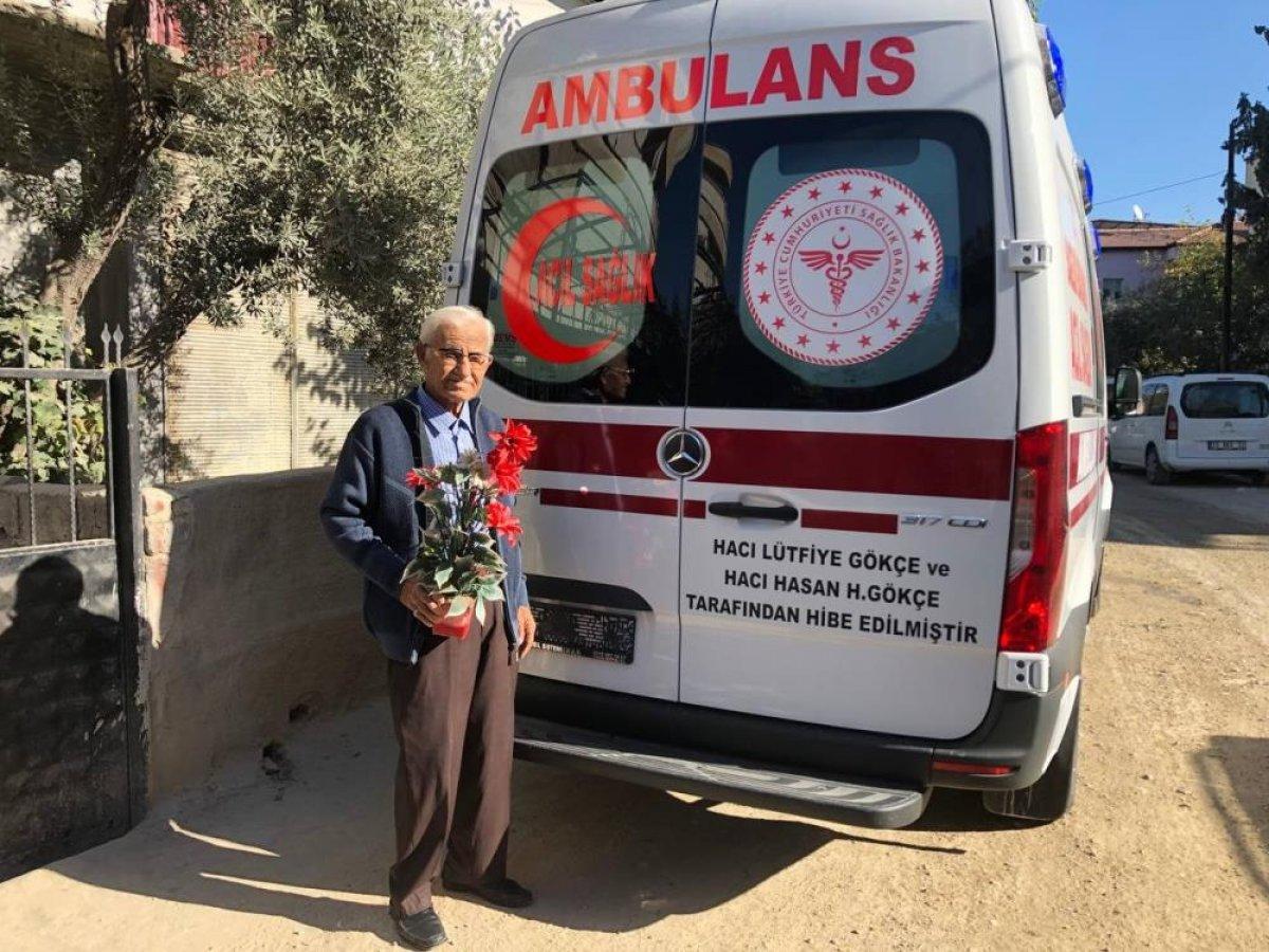 Denizli de ölmeden önce eşine vasiyet etti: Ambulans alıp devlete bağışla #1