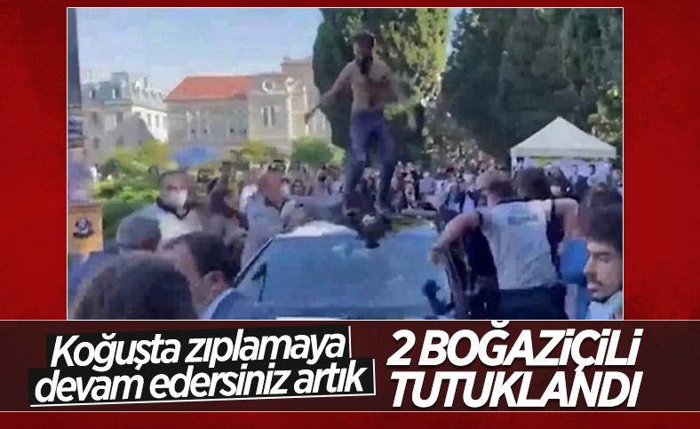 Boğaziçi Üniversitesi'nde gözaltına alınanlardan 2'si tutuklandı