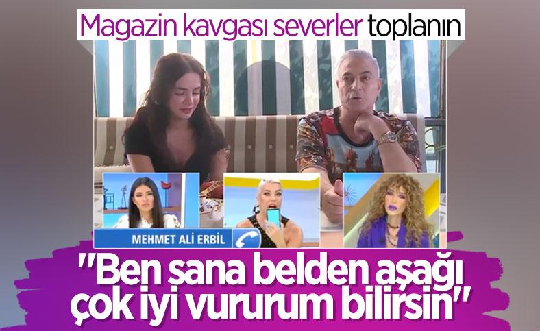 Deniz Akkaya ve Mehmet Ali Erbil birbirine girdi