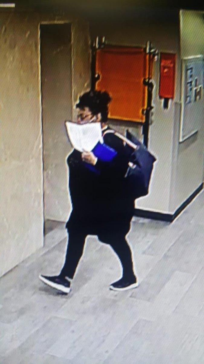 Şişli de bir şahıs, hasta gibi girdiği hastanede 2 gün hırsızlık yaptı #5