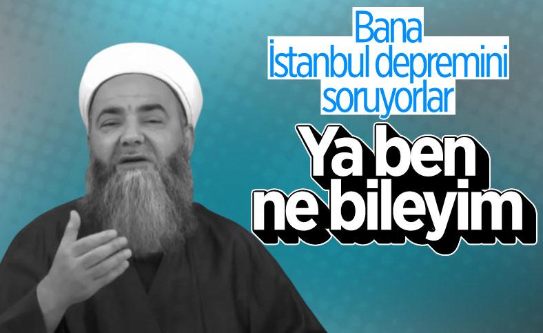 Cübbeli Ahmet'ten deprem sorusuna yanıt: Ben ne bileyim