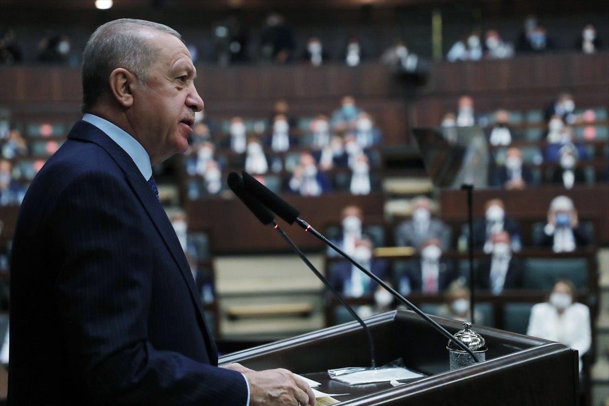 Cumhurbaşkanı Erdoğan ın grup toplantısı konuşması #1