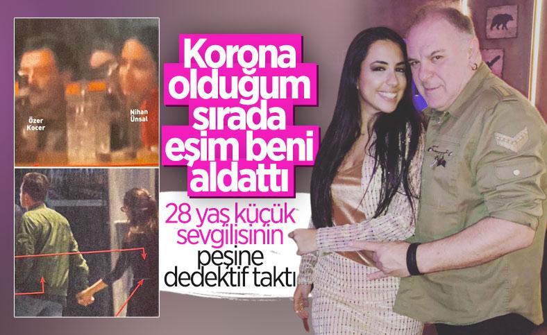 Burak Sergen'i aldatan Nihan Ünsal'ın yasak aşk fotoğrafları
