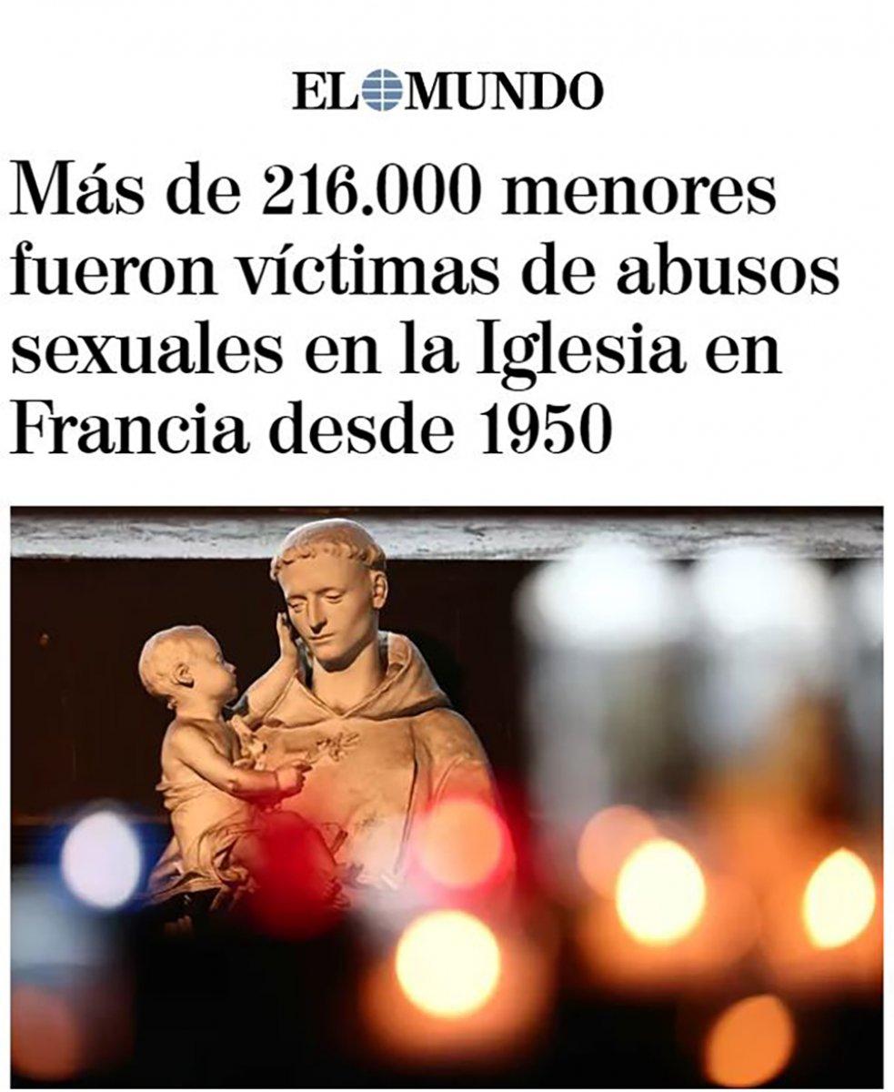 Fransa da çocukların kiliselerde istismara uğraması Avrupa nın gündeminde #9