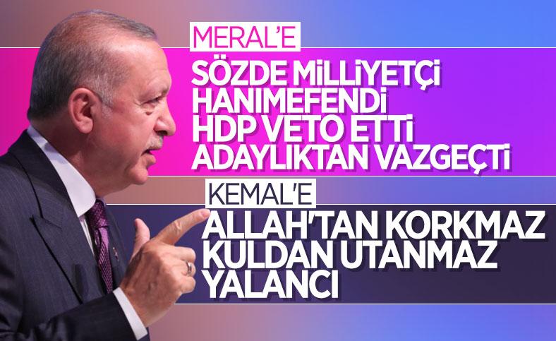 Cumhurbaşkanı Erdoğan'ın grup toplantısı konuşması