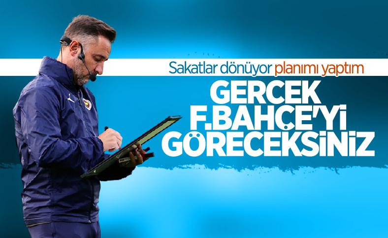 Vitor Pereira: Gerçek Fenerbahçe'yi göstereceğiz
