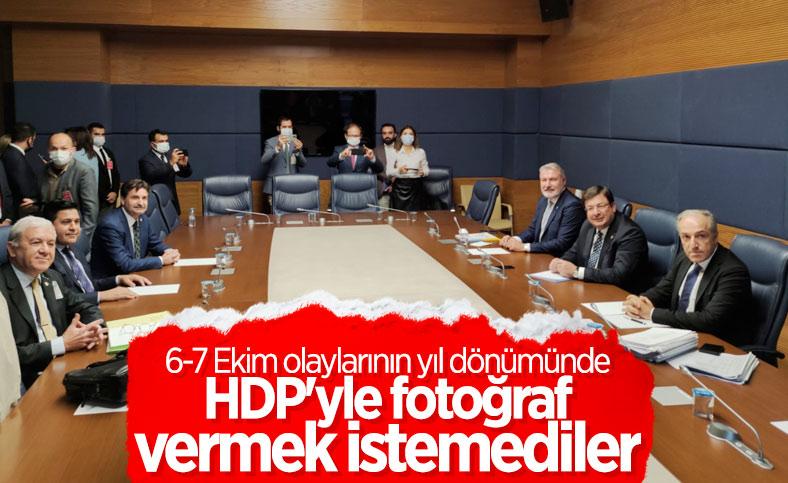 Muhalefet partileri TBMM'de toplandı