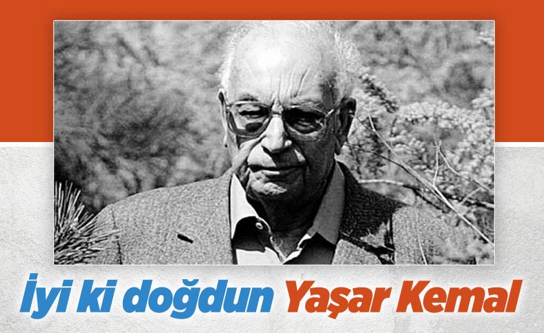 Büyük yazar Yaşar Kemal 98 yaşında