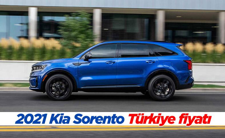 2021 Kia Sorento Türkiye fiyatı ve özellikleri