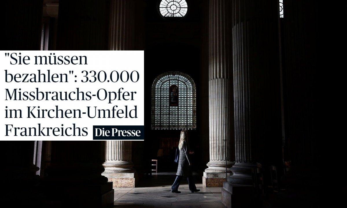 Fransa da çocukların kiliselerde istismara uğraması Avrupa nın gündeminde #7
